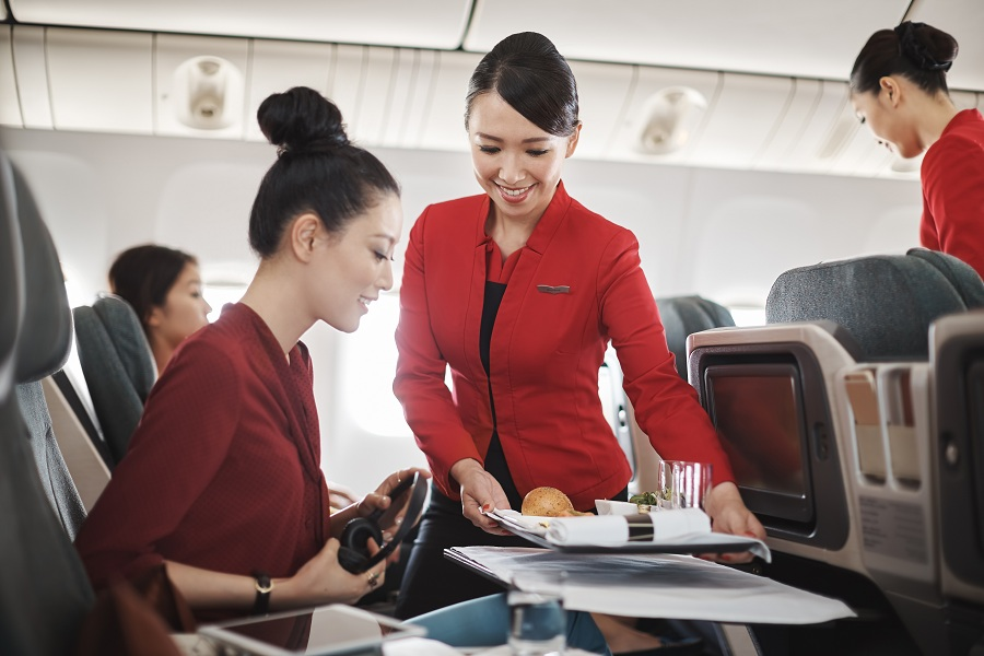 Cathay Pacific cabin crew recruitment money kinetics