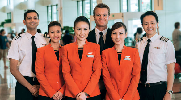 JetStar Asia Airways cabin crew recruitment money kinetics