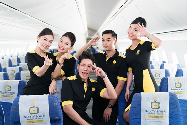 Scoot cabin crew recruitment money kinetics