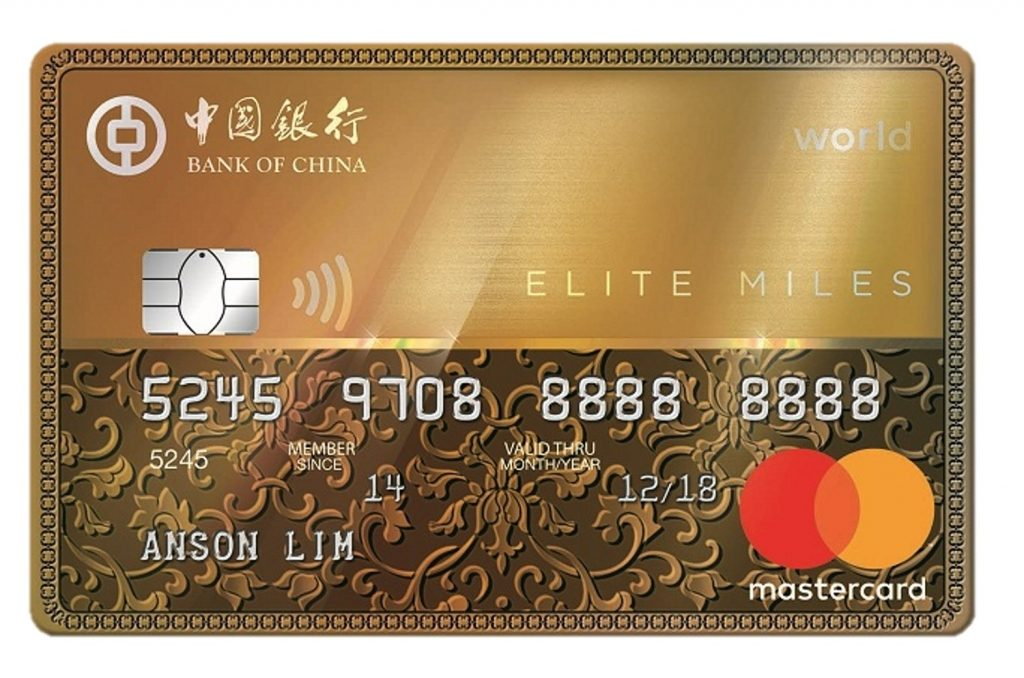 BOC Elite Miles Card Money Kinetics Air Miles Credit Card