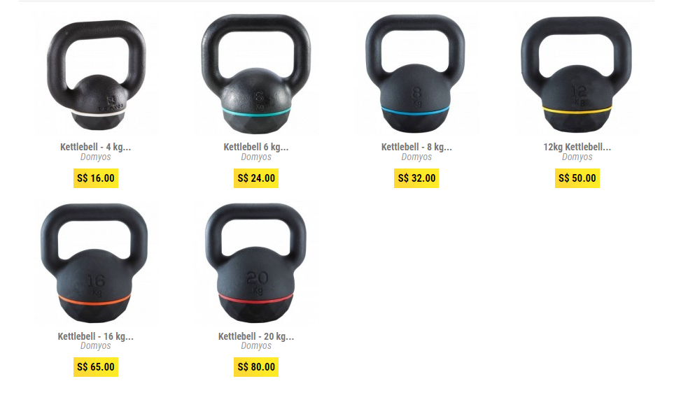 kettlebells home gym money kinetics