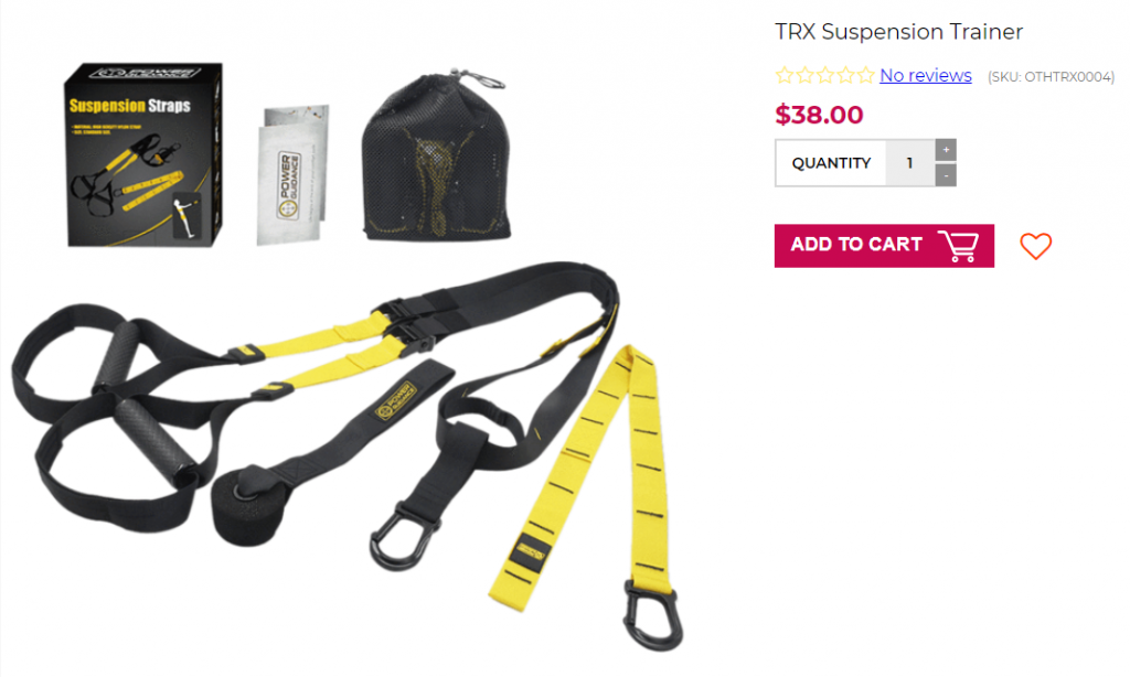 trx suspension trainer home gym money kinetics