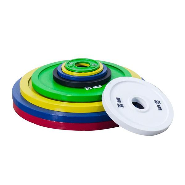 coloured plates home gym money kinetics