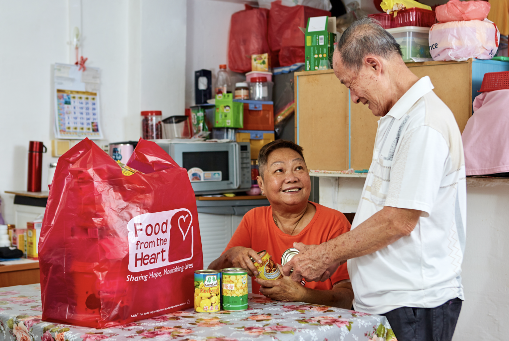food from the heart volunteering