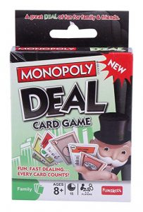 Monopoly Deal Card Game Singapore Money Kinetics