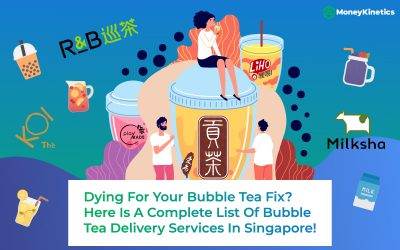 Bubble Tea Delivery Singapore